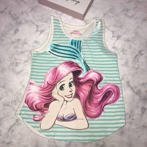 Disney • Sequin Ariel Tank Top XS 4/5
